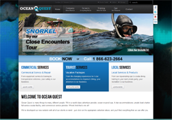 Thumbnail of Ocean Quest Adventure Resorts website